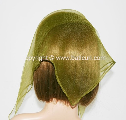 01(Small)-56 SQ Solid-Olive green